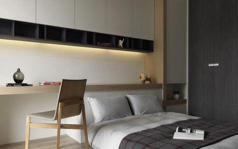 浪漫白色雙人床家裝設計圖