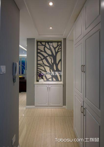 现代美式风格混搭装修风格二居室套图