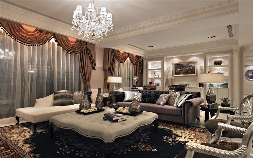 3室1卫2厅108平米新古典风格
