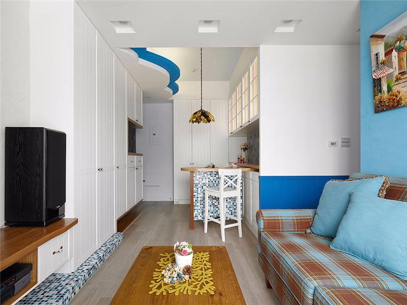2室1卫2厅120平米地中海风格
