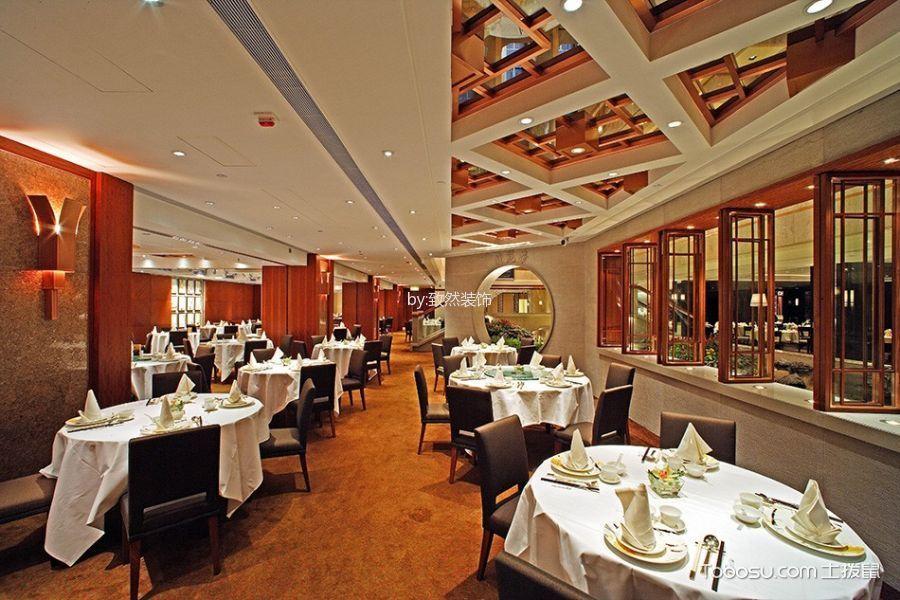 广州天河餐厅装修效果图