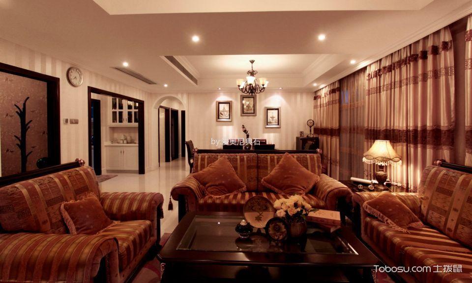 2020经典客厅装修设计 2020经典茶几效果图