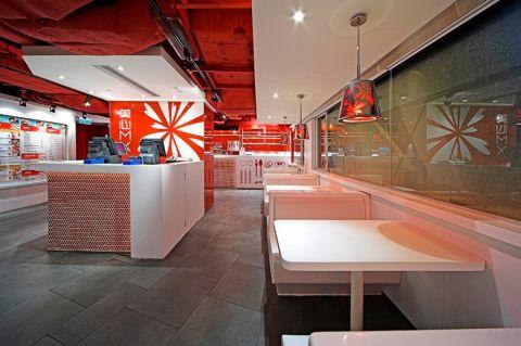 广州海珠餐饮店装修效果图