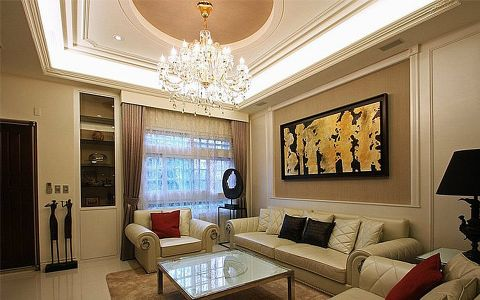 美式风格的整体装修是以暗棕土黄为主的自然色彩。这样的颜色代表着人们以土地为依靠,在土地的承载中生存与发展,家居采用的是多种风格的混合,所以在美式混搭风格家装的设计中,设计师主要采用西方文化的元素添入整个美式的家居打造中。