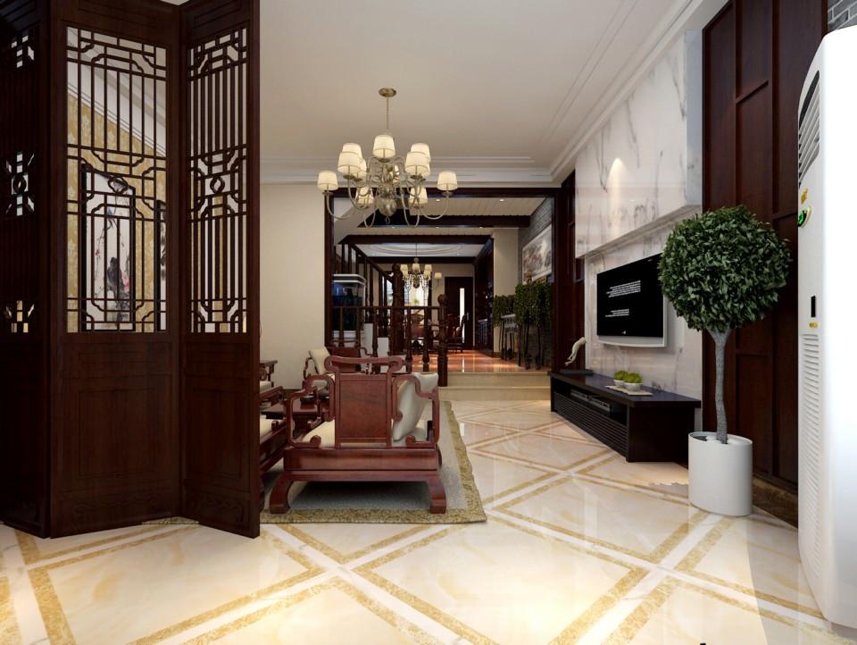 2室1卫1厅260平米中式风格