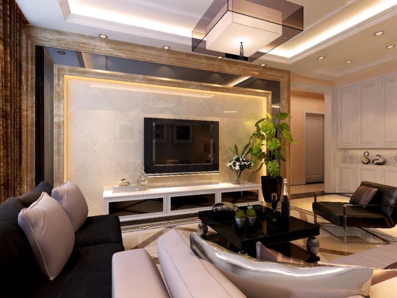 2室1卫1厅130平米现代风格
