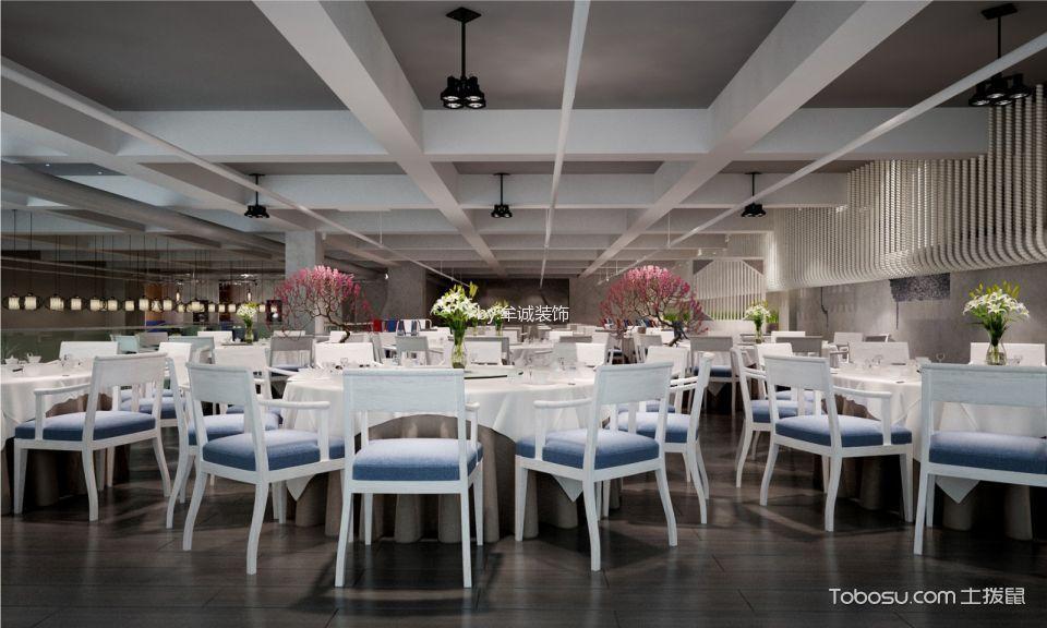 餐厅大厅装潢图