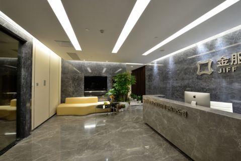 深圳市京基100大厦金服信用金融公司办公室装修效果图