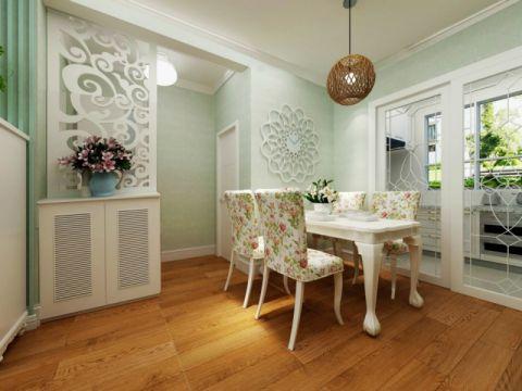 【银盛泰德郡】96.31平97平美式田园风格两居室装修设计图