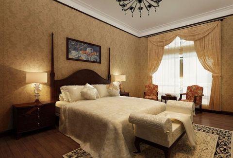 現代雙人床效果圖圖片