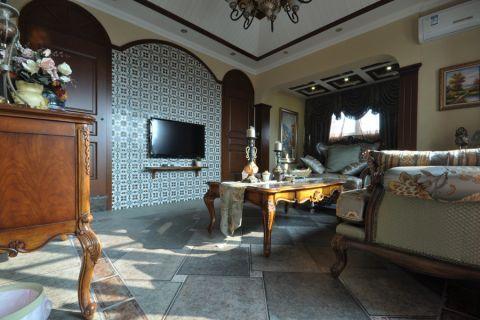 伟星城美式经典风格设计案例实景图片