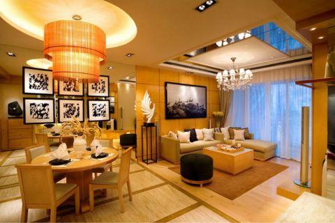 武汉天街两居室71平半包装修设计图