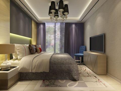 新景园现代温馨风两室住宅设计