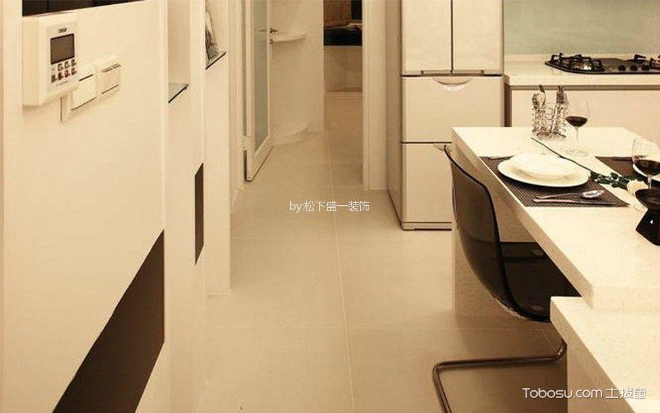 厨房走廊现代简约风格装饰设计图片