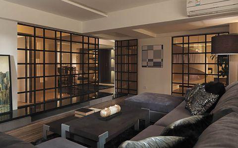 现代简约温馨舒适错层家居装修图片