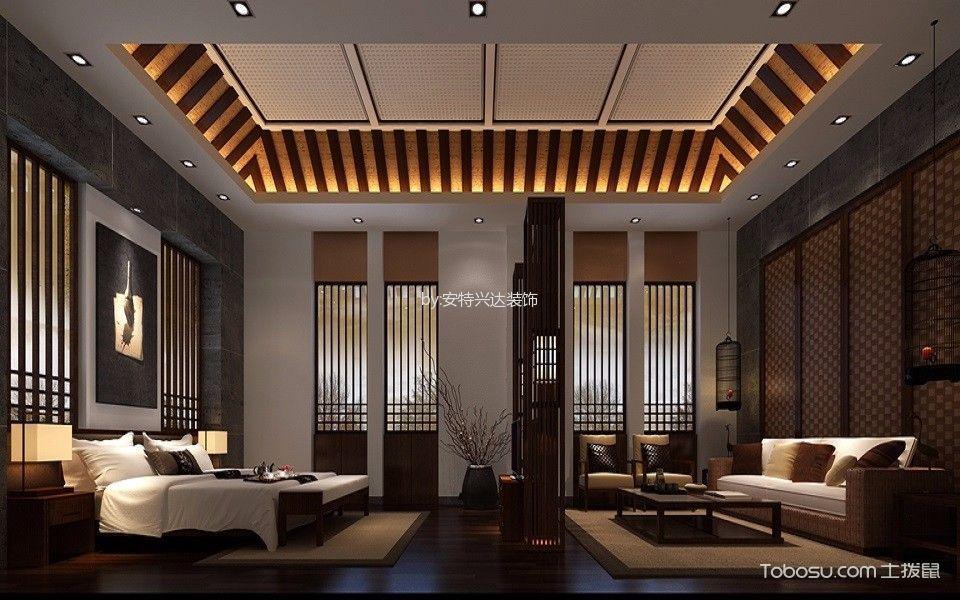 新古典风格300平米别墅室内装修效果图