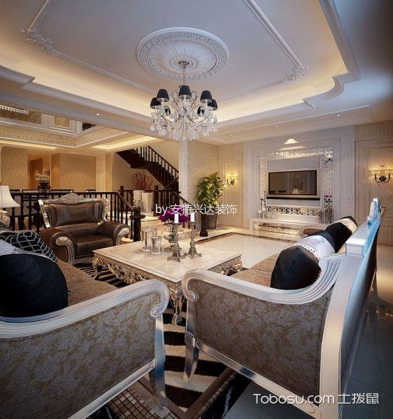 东丽湖别墅欧式风格设计效果图