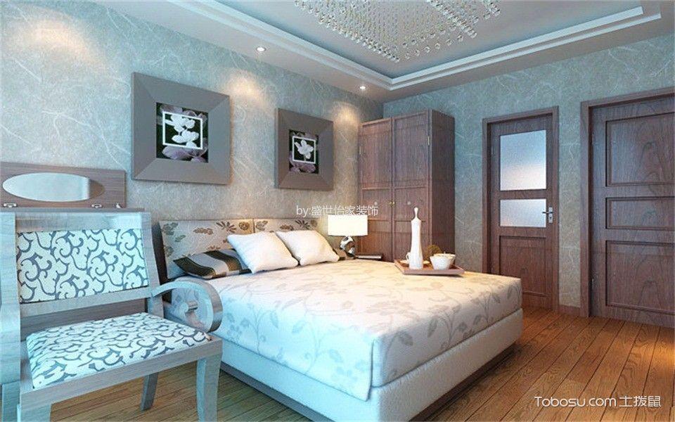 卧室咖啡色衣柜新中式风格装饰效果图