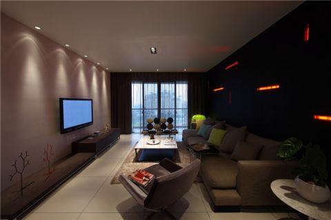 王家湾中央生活区 93平全包6 万 现代风格