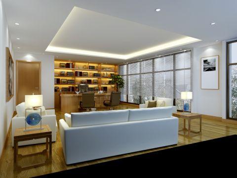 东莞南城汇丰中心办公室装修效果图