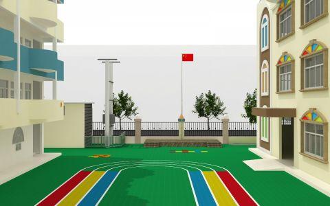 东莞谢岗镇幼儿园装修效果图