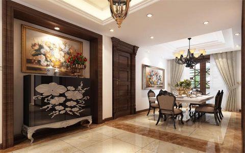 国贸天琴湾小区210平米卧室风格效果图案例