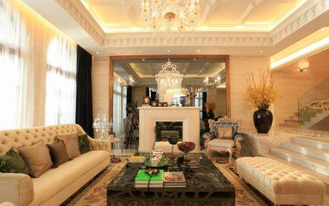 现代欧式的居室有的不只是豪华大气,更多的是惬意和浪漫。通过完美的曲线,精益求精的细节处理,带给家人不尽的舒服触感,实际上和谐是欧式风格的最高境界。