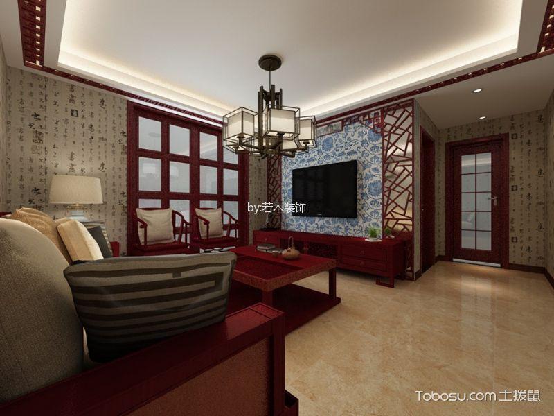 2020中式古典100平米图片 2020中式古典二居室装修设计