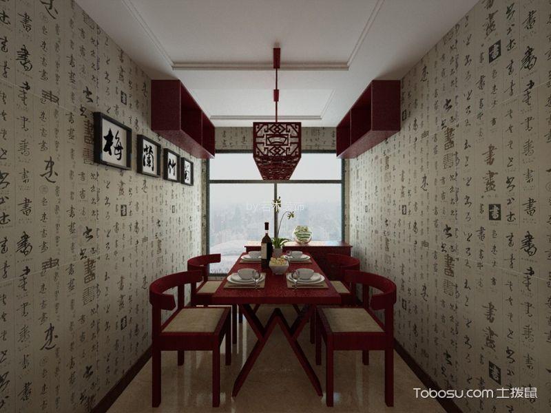 2019中式古典餐厅效果图 2019中式古典背景墙装修设计