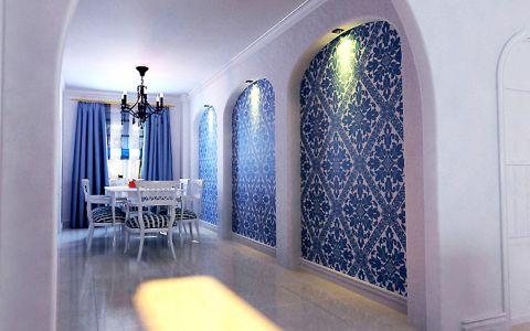 天华里两室地中海风格设计