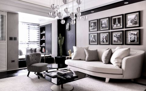 2021现代100平米图片 2021现代二居室装修设计