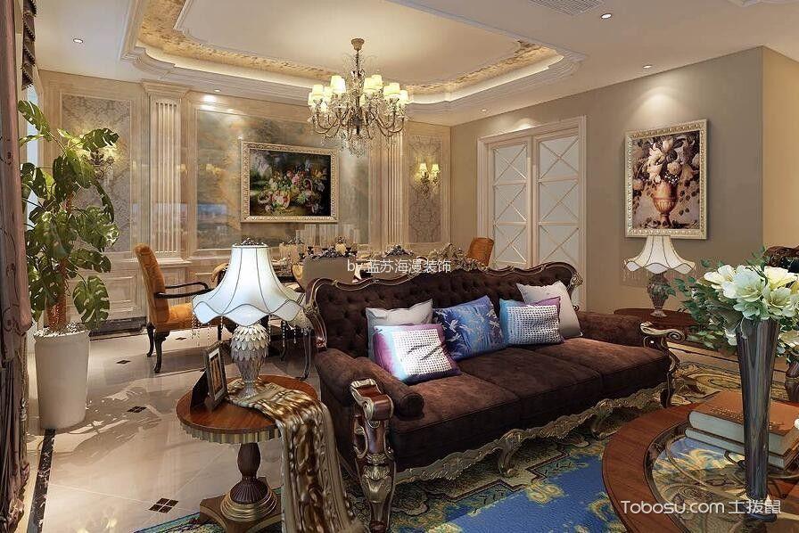 上海雨果别墅欧式风格370平装修效果图