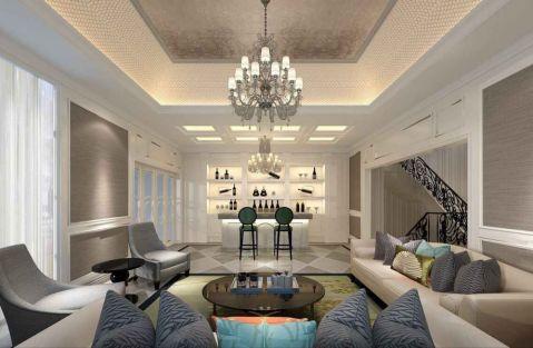 中建大公馆叠加别墅装修欧式新古典风格设计方案展示,上海腾龙别墅设计师徐文作品,欢迎品鉴!