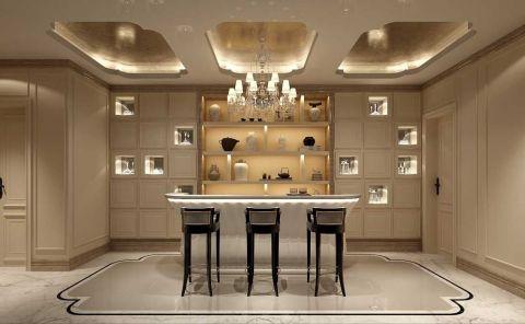 中建大公馆叠加别墅装修欧式古典风格设计方案展示,上海腾龙别墅设计师徐文作品,欢迎品鉴!