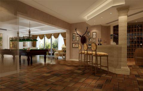 绿洲千岛别墅装修欧美风格设计图