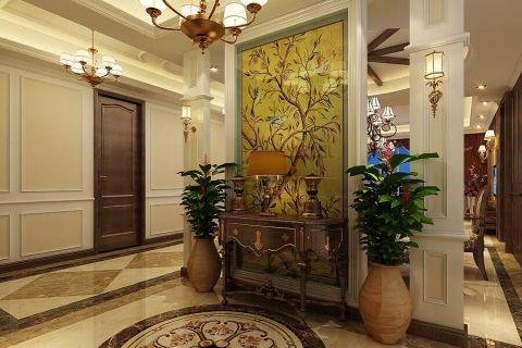 石湖湾花园180平美式风格效果图
