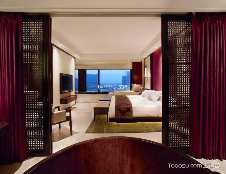 珠海明月湾中式风格酒店装修效果图