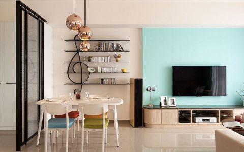 国兴北岸江山135平米新古典风格三居室装修效果图