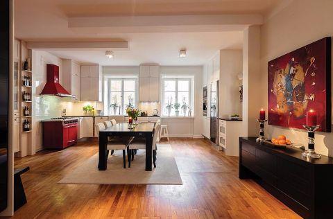 富强天合园113平三居室半包现代简约装修设计图