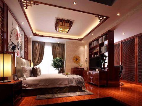 中式风格家庭装修效果图