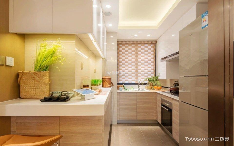 2020现代简约厨房装修图 2020现代简约窗帘装修图