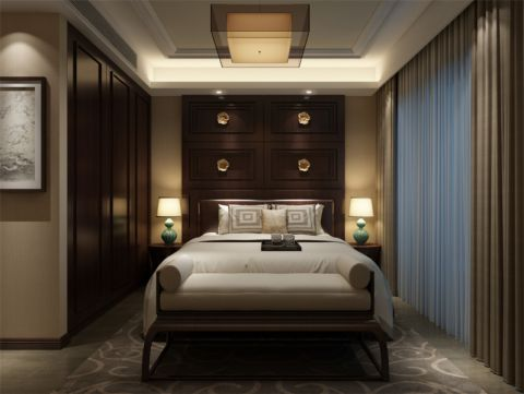 浦江坤庭别墅户型装修新中式风格设计方案展示,上海腾龙别墅设计师王琛作品,欢迎品鉴!
