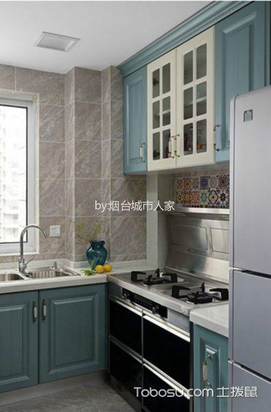 2020美式厨房装修图 2020美式窗台图片