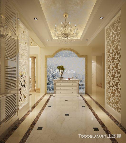 走廊装饰图