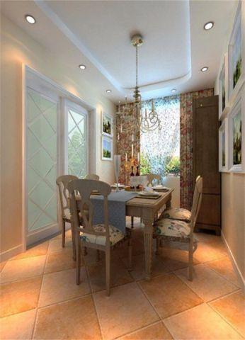 东南亚风格130平米四室两厅新房装修效果图