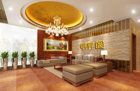东莞明升园酒店欧式风格装修效果图