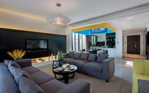 2020现代简约100平米图片 2020现代简约三居室装修设计图片