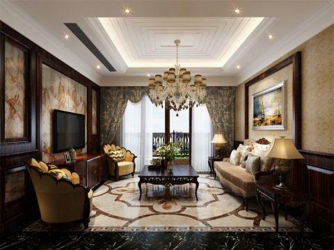 欧洲印象别墅装修美式风格设计图