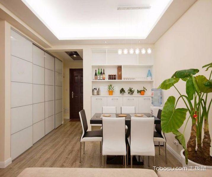 重庆渝开发格莱美城80.7平米现代简约风格效果图