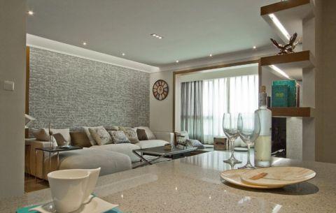 珠江太阳城日式风格三居室效果图
